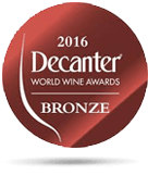decanter 2016 bronze